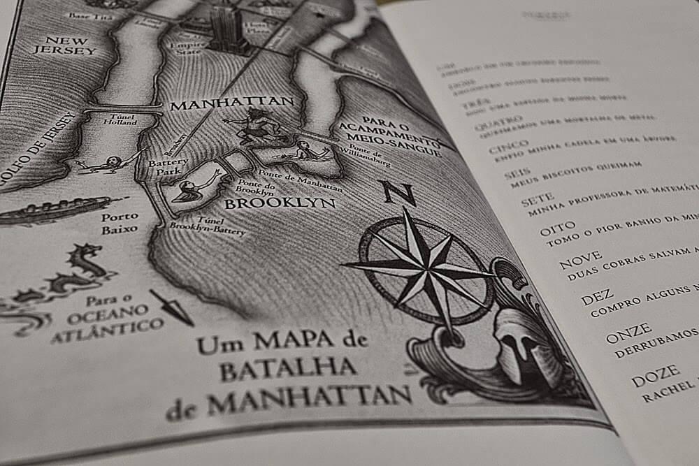UM MAPA DE BATALHA DE MANHATTAN - MAPA O ULTIMO OLIMPIANO