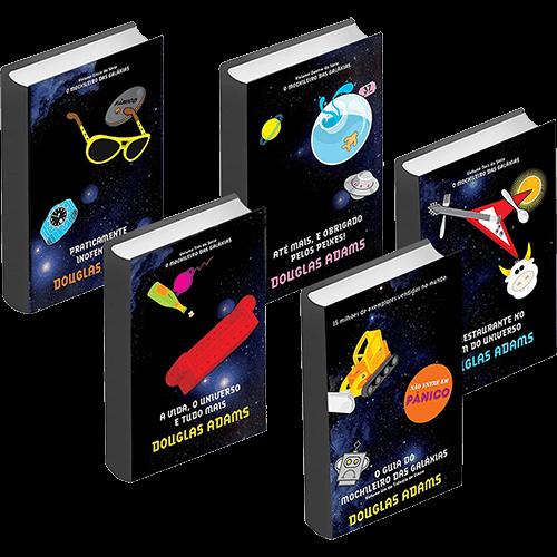 Serie de Livros – O Guia do Mochileiro das Galáxias
