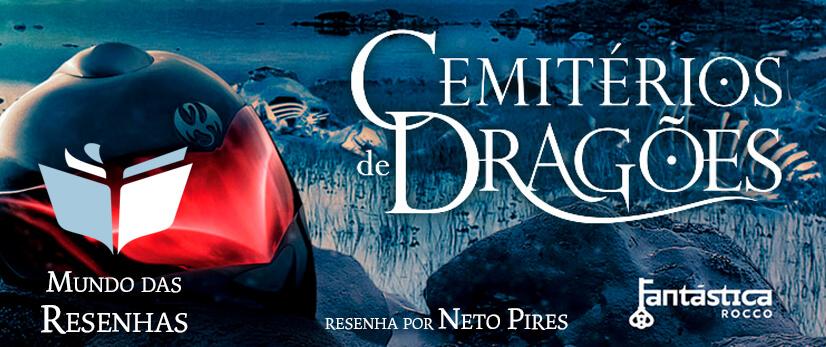 Capa - Resenha do Livro Cemitério dos Dragões - Legado Ranger - Livro 1