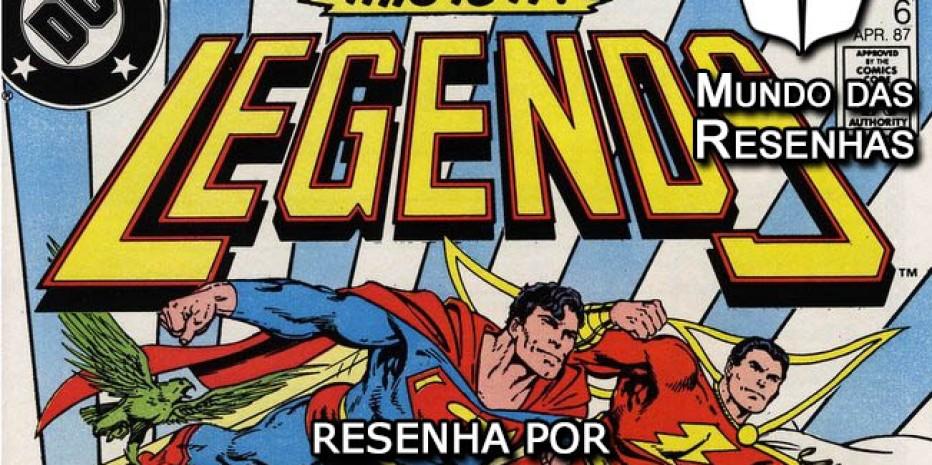 Resenha – Lendas (DC Comics)
