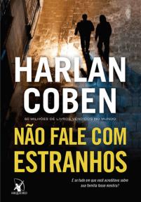 Capa do Livro Não Fale com Estranhos – Harlan Coben