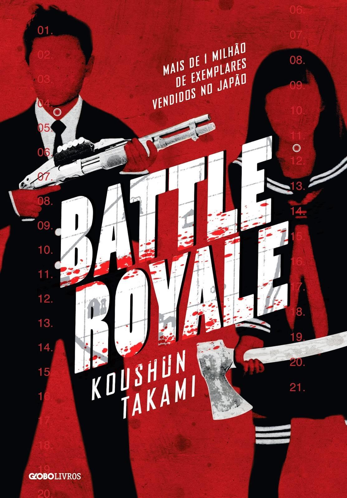 Resultado de imagem para battle royale livro