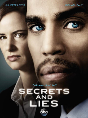 Capa da Segunda temporada de Secrets and Lies