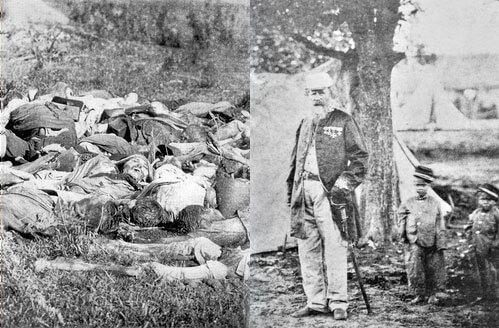 Guerra do Paraguai, imagens da guerra