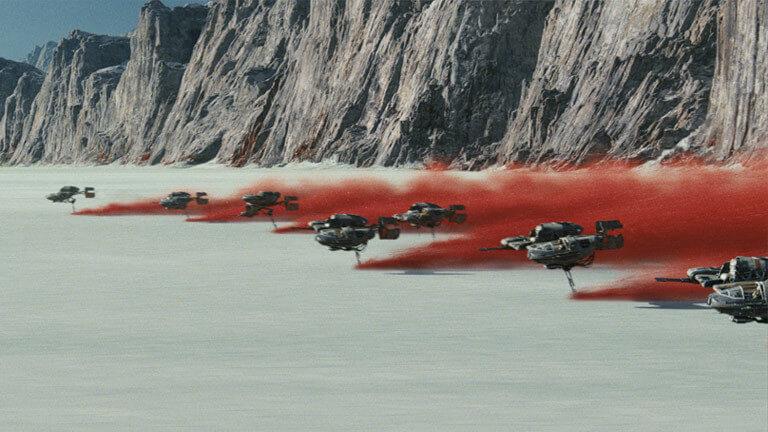 ski speeder _ Star Wars Os Últimos Jedi