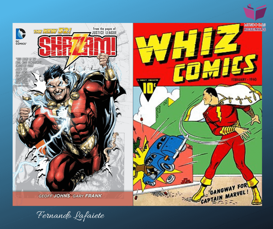 Shazam!: Breve história e HQ que inspirou a adaptação cinematográfica.