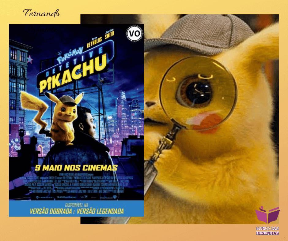Detetive Pikachu: Bom sem ser exagerado.