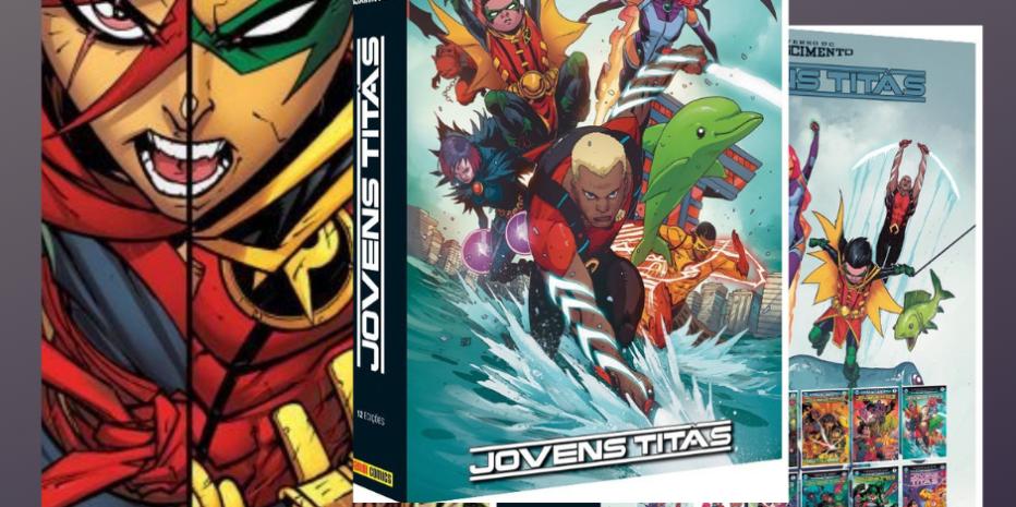 (HQ) Jovens Titãs/Novos Titãs: DC Renascimento