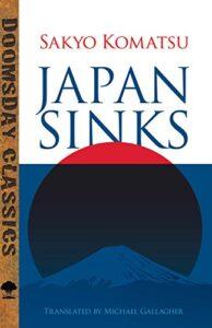 Livro Japan SInks - Sakyo Komatsu