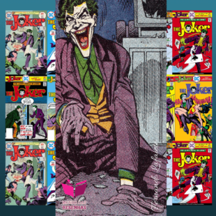 The Joker (Coringa 1975 – 1976) – Denny O'Neil | A Loucura pode ser divertida.