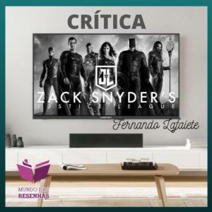Zack Snyder's Justice League - HBO MAX   Todo o meu respeito ao Snyder